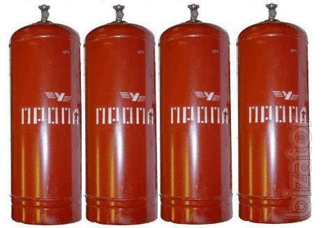 Purchase and maintenance of cylinders for propane 50 l