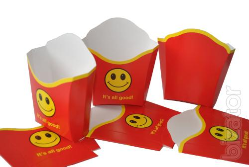 Packaging for fast food