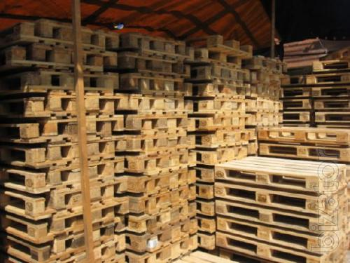 On a regular basis sell wooden pallets and pallets 1200*800