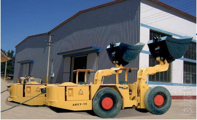 electric underground loader ADCY-15