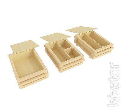 Wooden gift box. Production in Ukraine.