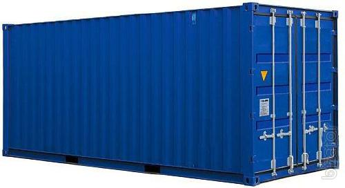 A 40 feet container 20 with shipping