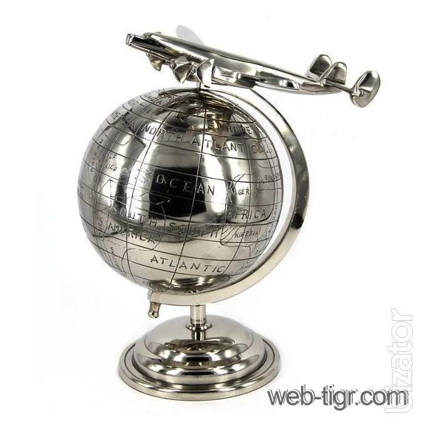 Глобус из металла своими руками