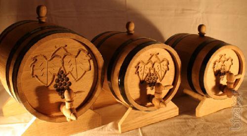 Manufacturer of oak Barrels, In Ukraine.