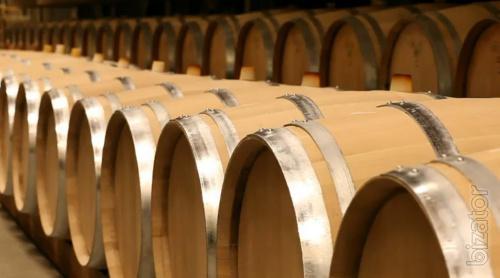 Wooden barrels. Ukrainian wood.