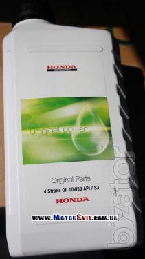 Motor oil Honda SAE10w30 for power production