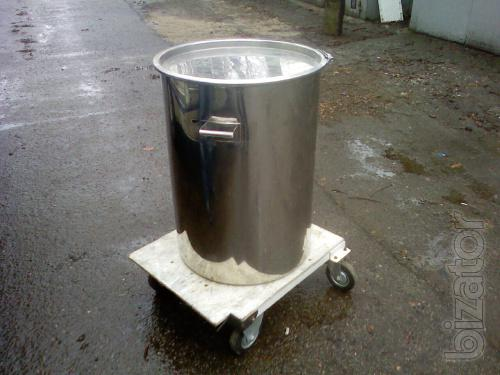 Food capacity stainless steel