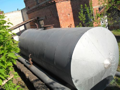 The horizontal steel tank GCF-40