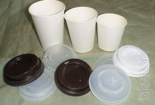 Paper (cardboard) cups 182 ml 255 ml, 340 ml from the manufacturer