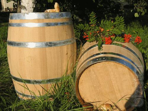 Oak barrels from the manufacturer! +New Mail Delivery.