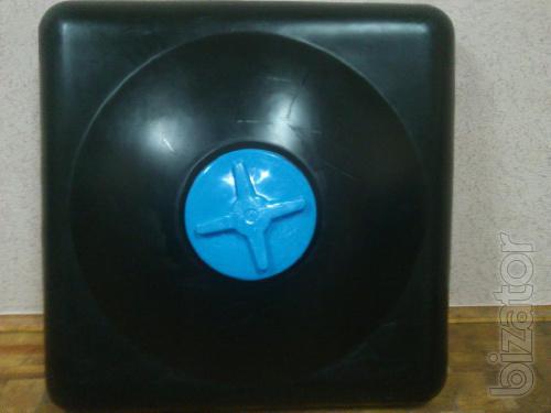 Shower tank plastic Vyshgorod cherry