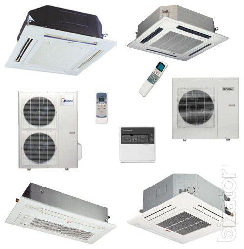 Types Of Ventilation Systems : Air conditioners of all types and ventilation system for a