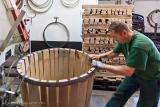 Manufacture wooden barrels for wine and brandy.