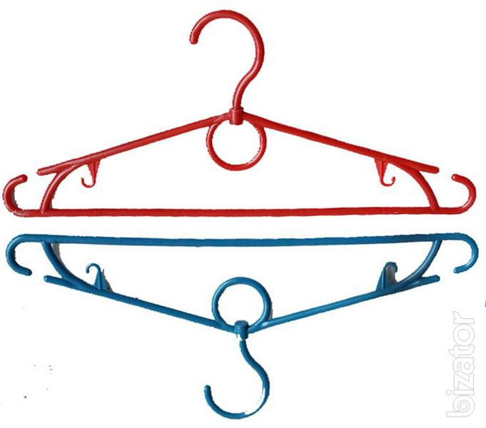 Clothes hangers, plastic hangers. Cheap. - Buy on www ...