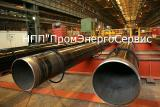 The welded steel pipe 630х10 20,17G1S price, weight