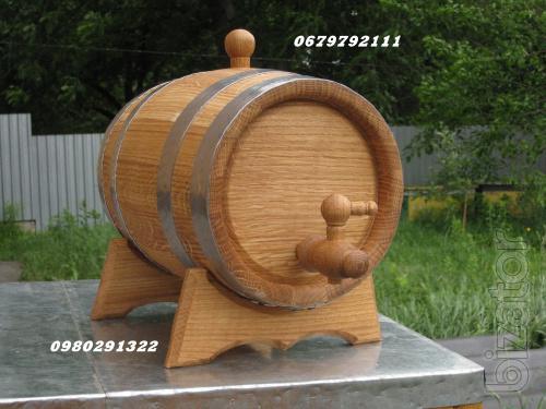 For wine, brandy oak barrels.