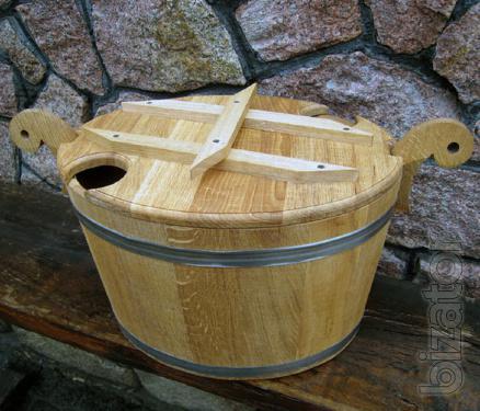Zapasnik oak for the bath