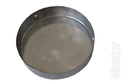 Cap for bore stainless steel with screws n/W