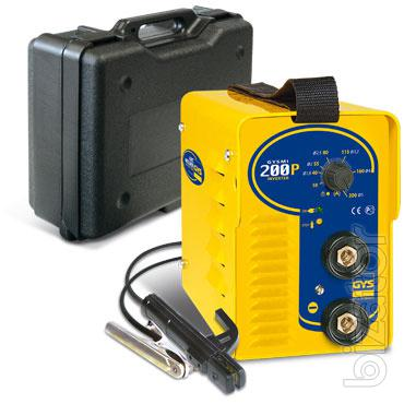 Welding inverter Gysmi 200R (France) - at a low price, from a warehouse.