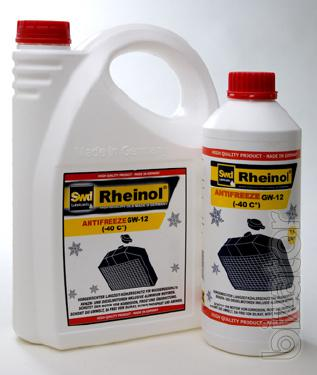 Antifreeze G12+ concentrate in packaging 5L, 20L, 60L and 208L