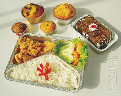 Food aluminum containers