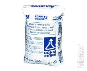 Implement the ion exchange resin amberlite IRA-96, IRA 402 CI