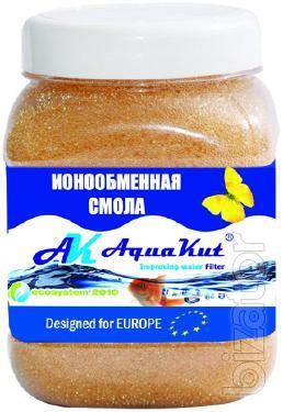 Ion-exchange resin AquaKut - packing liters 0,438