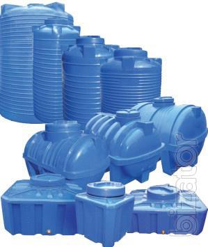 Capacity tanks from food grade polyethylene Zhitomir Malin