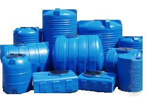 Capacity water tanks plastic Bakhmach, Chernihiv