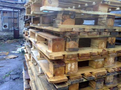 Will sell in Kiev second hand pallets 1000x1200