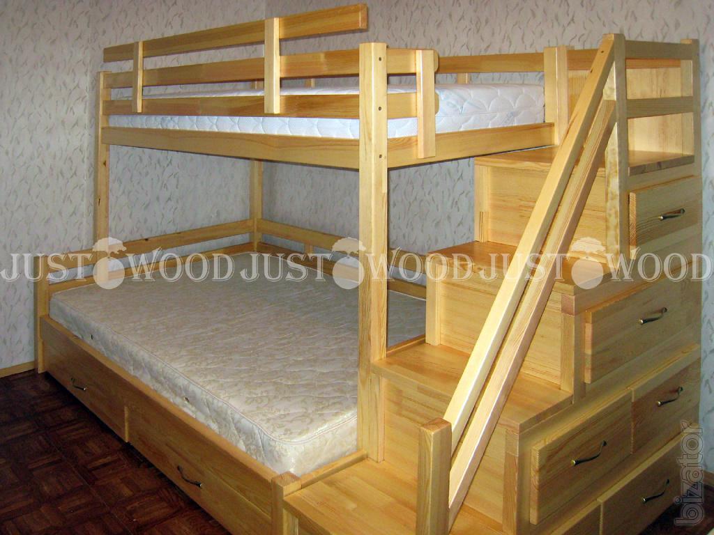 Как своими руками сделать двух ярусную кровать