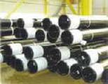 Manufactured pipe casing, tubing, drill