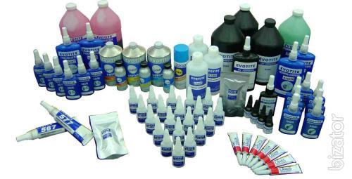 Loctite, Henkel Teroson, Evotite, Kroxx, Chester molecular, Cosmofen, Rite-lok, Loxeal, Emfi, Sika