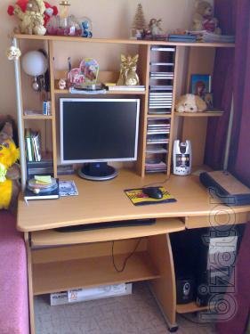 computer table s-106 alder color b/y