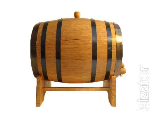 Cooperage. Manufacturer of wooden barrels