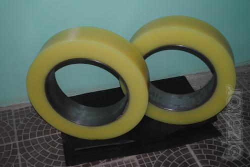 Polyurethane rollers, polyurethane sheet, products made of polyurethane under the order