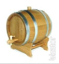 Oak barrel makes the wine, and we - do barrels