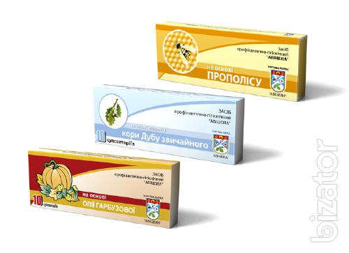 Cardboard packaging for dietary Supplements