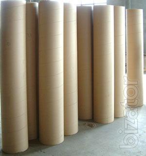 Cardboard tubes, shells, drums, bushings, tubes