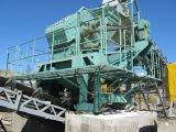 Crusher dim 800K for cube-shaped crushed stone from solid rock.