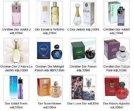 Sell license perfumes