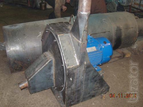 Mill, hammer crusher (fraction less than 1 mm)