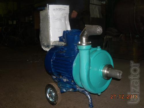 Pump for press, filter, explosion proof centrifugal