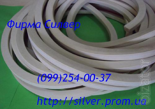 Rubber vacuum sealing