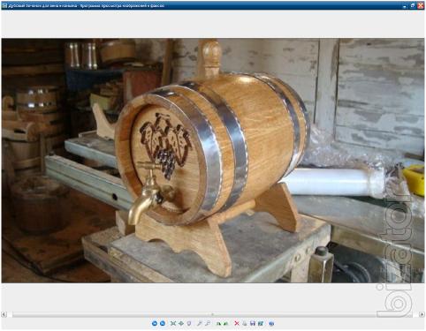 Oak barrel for wine and brandy