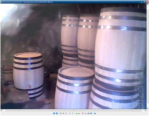 Production of oak barrels