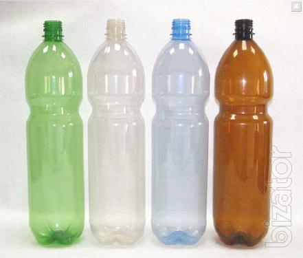PET bottles of 1.5 liters for 4 rubles, Preforms 36 gr RDF - 2,9