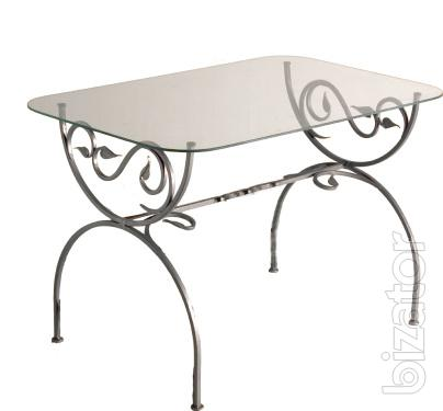 Wrought iron coffee table Arch