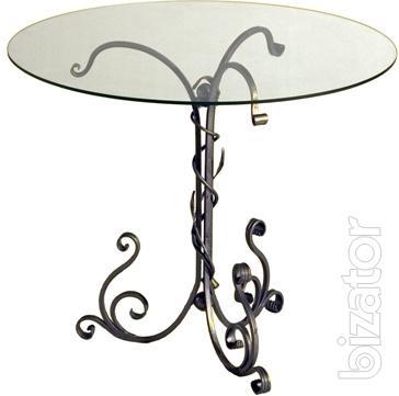 Wrought iron coffee table Liana