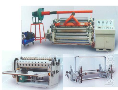 Will sell corrugator DW 1300 SF (gamepress line)